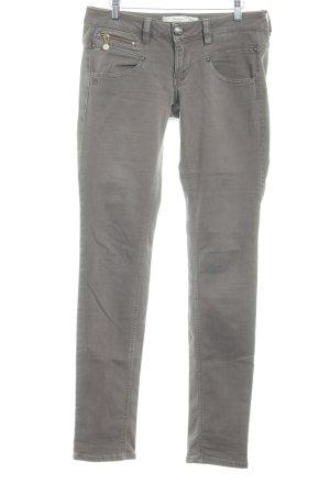 Freeman t. porter Slim Jeans taupe-graubraun Casual-Look