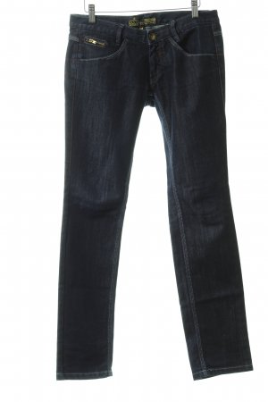 Freeman t. porter Straight-Leg Jeans dunkelblau Washed-Optik
