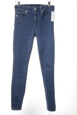 Freeman t. porter Straight-Leg Jeans hellblau Casual-Look