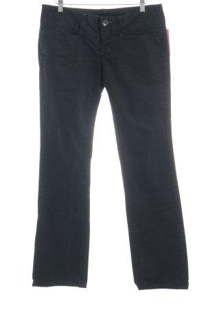 Freeman t. porter Straight-Leg Jeans schwarz Casual-Look