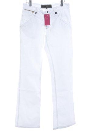 Freeman t. porter Straight-Leg Jeans weiß Casual-Look