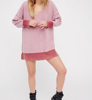 FreePeople: Super kuscheliges Sweatshirt im Oversized-Look
