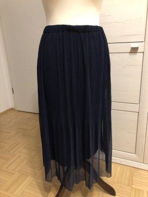 Pleated Skirt blue-dark blue