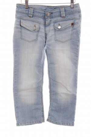 Freesoul 3/4 Jeans hellblau Street-Fashion-Look