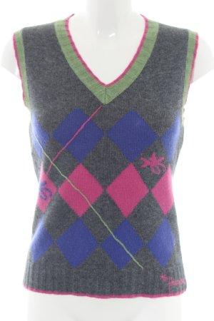 Freesoul Cardigan en maille fine motif graphique style décontracté