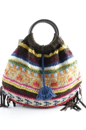 Freesoul Fringed Bag ethnic pattern Boho look