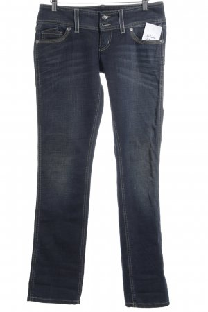 Freesoul Hüftjeans dunkelblau Jeans-Optik