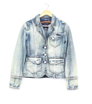 Freesoul Denim Jacket multicolored cotton