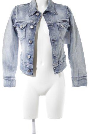 Freesoul Denim Jacket light blue athletic style
