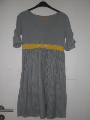 Freesoul Kleid grau gelb
