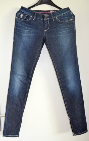 FREESOUL Röhrenjeans in tollem dark-used Wash W27/L32 (wie 36), wie neu