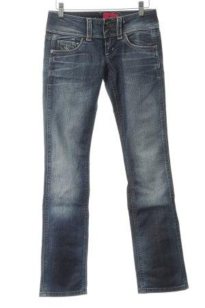 Freesoul Slim Jeans graublau Casual-Look