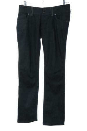 Freesoul Straight-Leg Jeans schwarz Business-Look