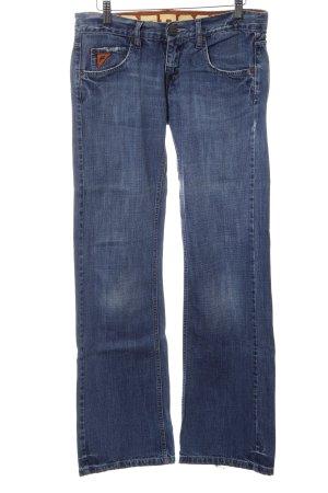 Freesoul Straight-Leg Jeans blau Casual-Look