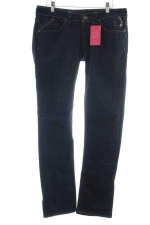 Freesoul Straight-Leg Jeans dunkelblau Casual-Look