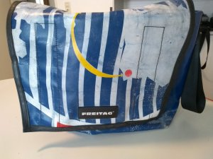 Freitag Messengerbag multicolored synthetic
