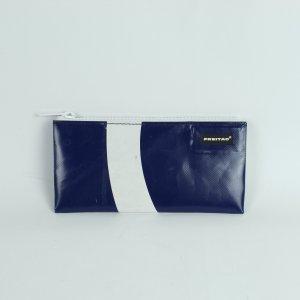 Freitag Pochette white-dark blue