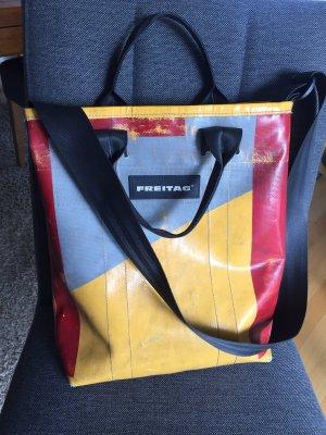 Freitag Tasche /Laptop gelb/blau