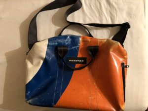 Freitag Messengerbag multicolored recycled material