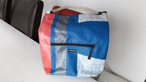 Freitag Messengerbag white-blue
