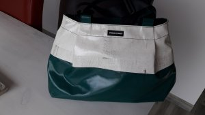 Freitag Messengerbag white-forest green