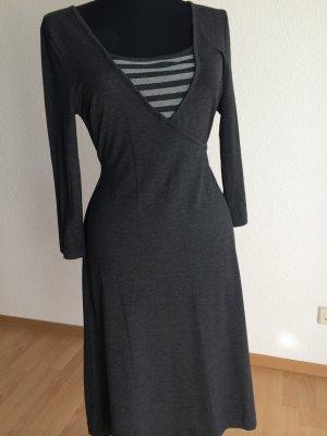 Madeleine Vestido estilo camisa gris antracita
