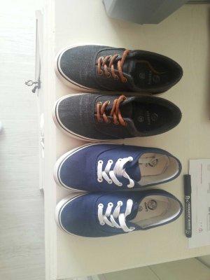 Sneakers dark grey-blue
