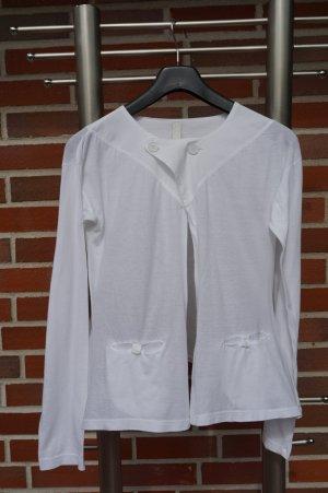 Veste de sport blanc coton