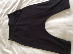 Baggy Pants black cotton