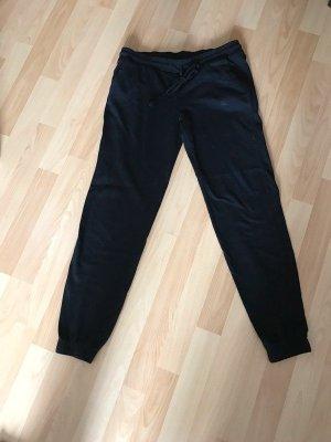 H&M Pantalon de sport noir coton