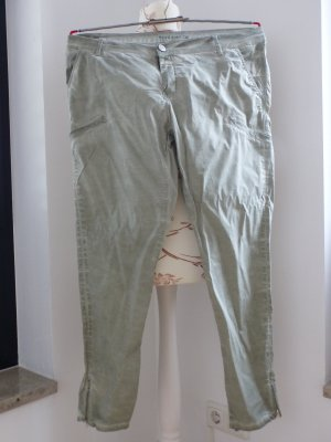 Blue Fire Jersey Pants sage green cotton