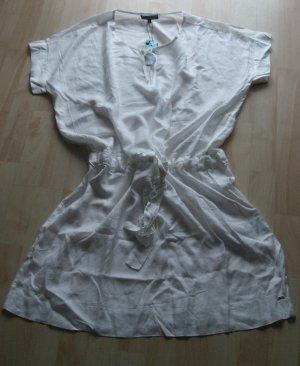Tommy Hilfiger Tunic Dress natural white-cream viscose