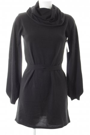 French Church Vestido tipo jersey negro look casual