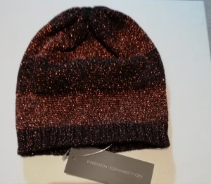 French Connection Cap multicolored cotton