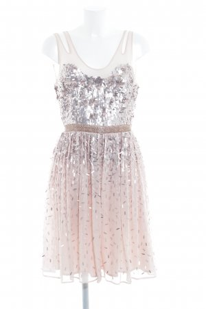 French Connection Ball Dress pink-rose-gold-coloured shimmery