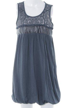 French Connection Ballonkleid dunkelblau minimalistischer Stil