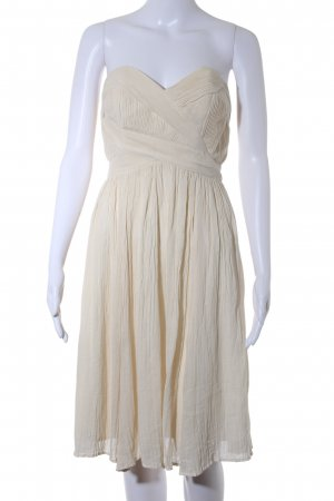 French Connection Bandeaukleid creme Elegant