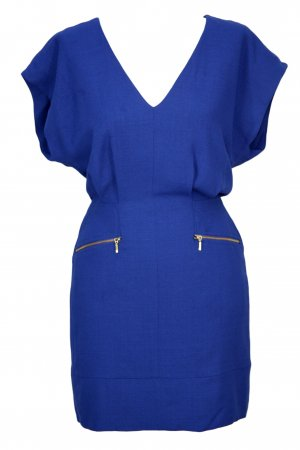 French Connection Blaues Kleid