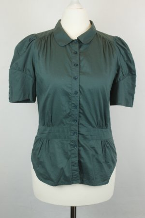 French Connection Bluse Gr. UK 10 / dt 38 grün kurzarm