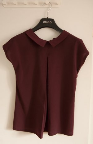 French Connection Bluse in Oxblood XS