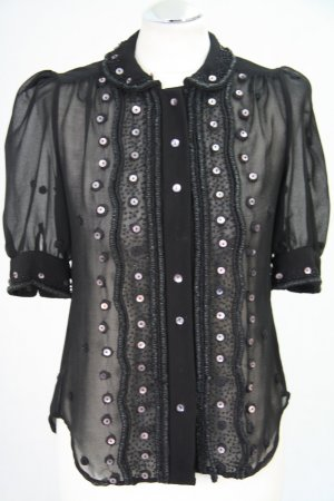 French Connection Bluse in Schwarz