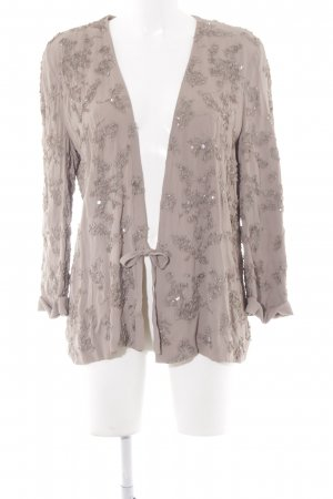 French Connection Chaqueta tipo blusa gris verdoso elegante