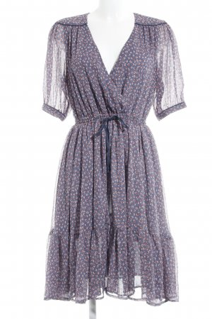 French Connection Blusenkleid abstraktes Muster Casual-Look