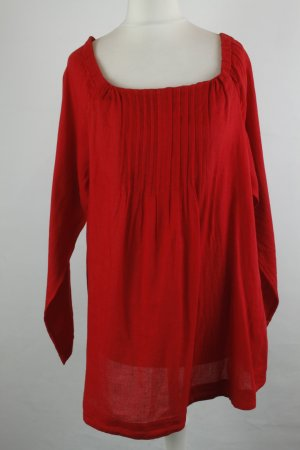 French Connection Carmen Bluse Gr. 40 rot lang