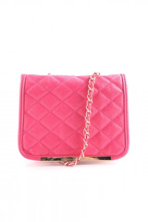 French Connection Clutch pink Steppmuster Elegant