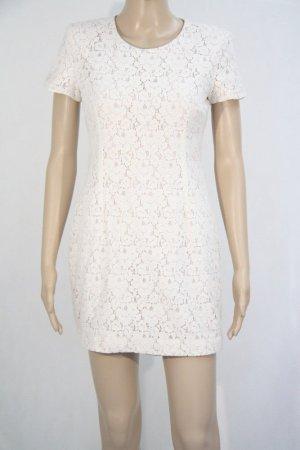 French Connection Kleid Damen Spitzenkleid Gr 34 (XS) Creme
