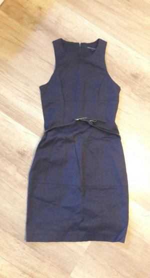 French Connection Kleid Etuikleid Gürtel Minikleid Business