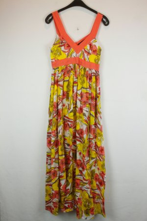 French Connection Kleid Maxikleid Gr. S apricot gelb Beach Hippie