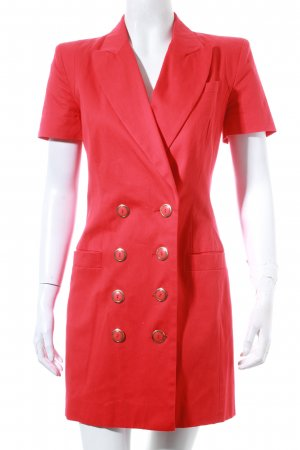 French Connection Kleid rot-goldfarben Retro-Look