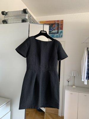 French Connection Kleid schwarz 38 wNeu Animal Muster Tulpen Rock kleines Schwarzes